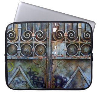 Greek gate laptop sleeve. laptop sleeve