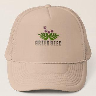 Greek Geek Trucker Hat