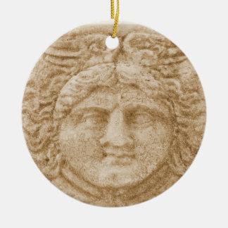 Greek God HERMES Christmas Ornament
