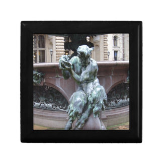 Greek God Pan Small Square Gift Box