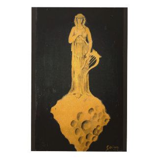Greek Goddess Wood Wall Art
