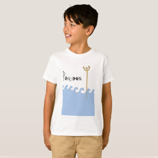 Greek Gods. Poseidon. Kids tshirt. T-Shirt
