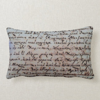 greek greece ancient hand writing text letters ink lumbar cushion