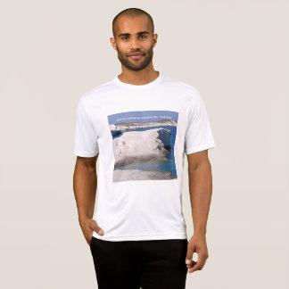 Greek Island LAVA ROCKS, CAVE & SEA  T-Shirt