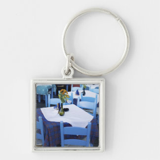 Greek Island of Crete and old town of Chania Key Ring