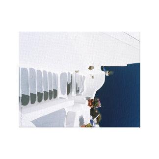 Greek islands-Santorini  canvas Canvas Print