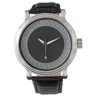 Greek Key Design Watch