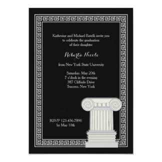 Greek Key Frame Invitation
