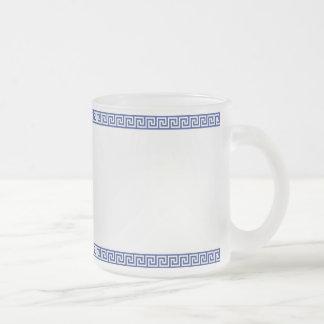 Greek Key Frosty Mug