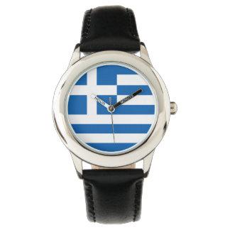 Greek Kid's Watch - The flag of Greece