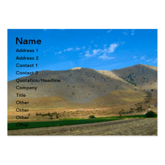 Greek landscape business card templates