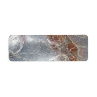 Greek Marble Return Address Label