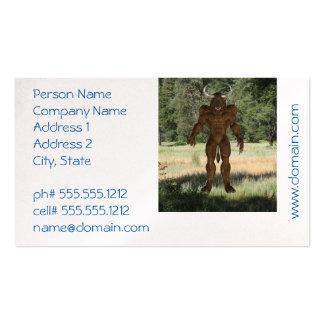 Greek Minotaur Pack Of Standard Business Cards