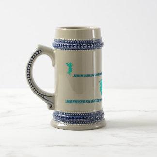 Greek Mug / grecain Key with Evzone