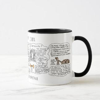 Greek Myth Comix Minotaur Myth mug! Mug