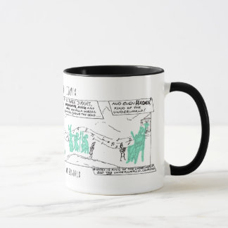 Greek Myth Comix Orpheus in the Underworld mug! Mug