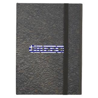 Greek name and flag iPad air cover
