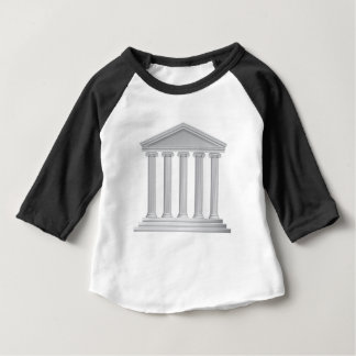 Greek or Roman Temple Columns Baby T-Shirt