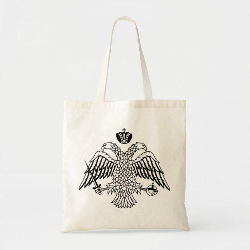 Greek Orthodox Church flag Mount Athos religious Bags