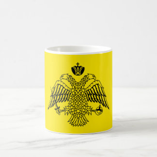 Greek Orthodox Church flag Mount Athos religious Basic White Mug