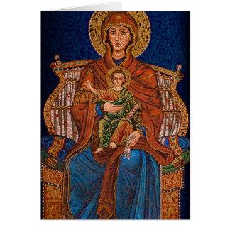 Greek Orthodox Greeting card