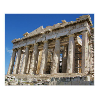 Greek Parthenon Poster