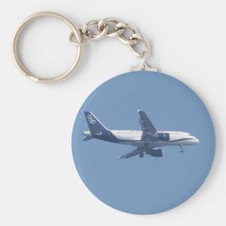 Greek Passenger Jet Keychains