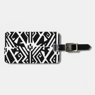 Greek Pattern Luggage Tag