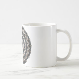 Greek Pebble Mosaics Contemporary Fine Art Coffee Mug