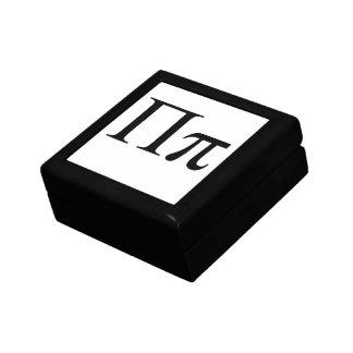 Greek PI Small Square Gift Box