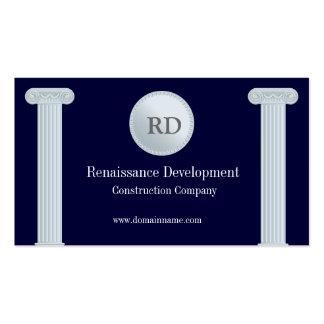 Greek Pillars Construction Business Card