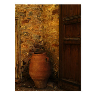 Greek pithos from Crete  - Minoan Period Postcard