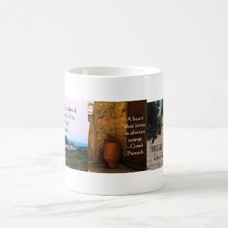 Greek Proverb about love Coffee Mug