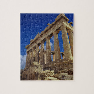 Greek ruins, Acropolis, Greece Jigsaw Puzzle
