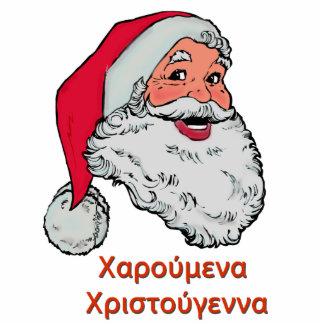 Greek Santa Claus Photo Cutouts