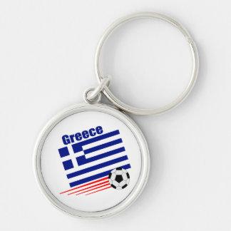 Greek Soccer Team Keychains