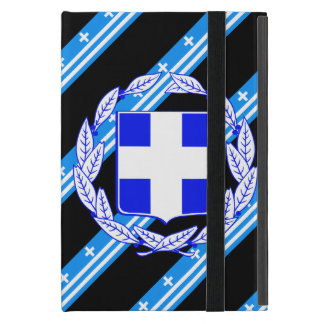 Greek stripes flag cover for iPad mini