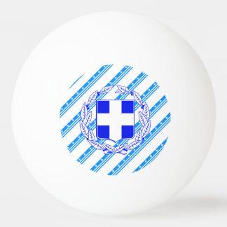 Greek stripes flag ping pong ball
