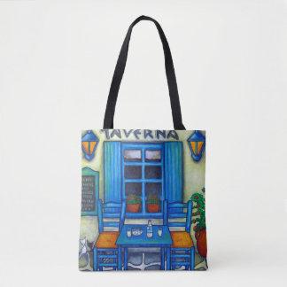 Greek Taverna Bag By Lisa Lorenz