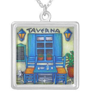 Greek Taverna Necklace by Lisa Lorenz