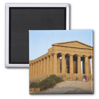 Greek Temple Magnet