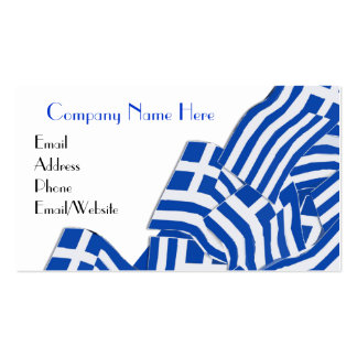 Greek Themed Business Cards