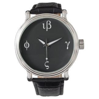 Greek Time - Dark Face Watches