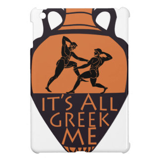 Greek To Me Case For The iPad Mini