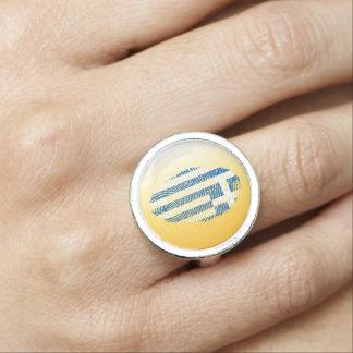 Greek touch fingerprint flag