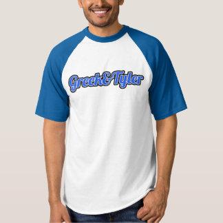 Greek&Tyler Blue Baseball shirt