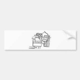 Greek Warrior Art Bumper Sticker