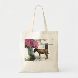 GreekIslandHouse.com Donkey Mascot Tote Bag