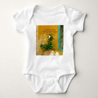 greekproverbInspirational Love quote Greek Proverb Baby Bodysuit