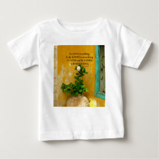 greekproverbInspirational Love quote Greek Proverb Baby T-Shirt